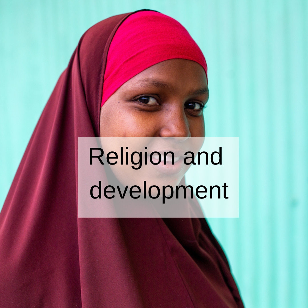 link to religion and development training