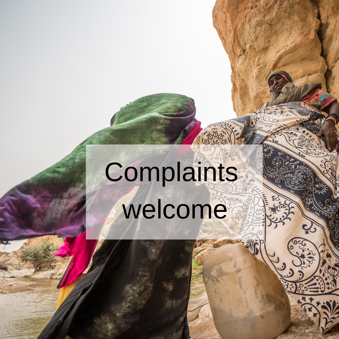 link to complaints welcome training