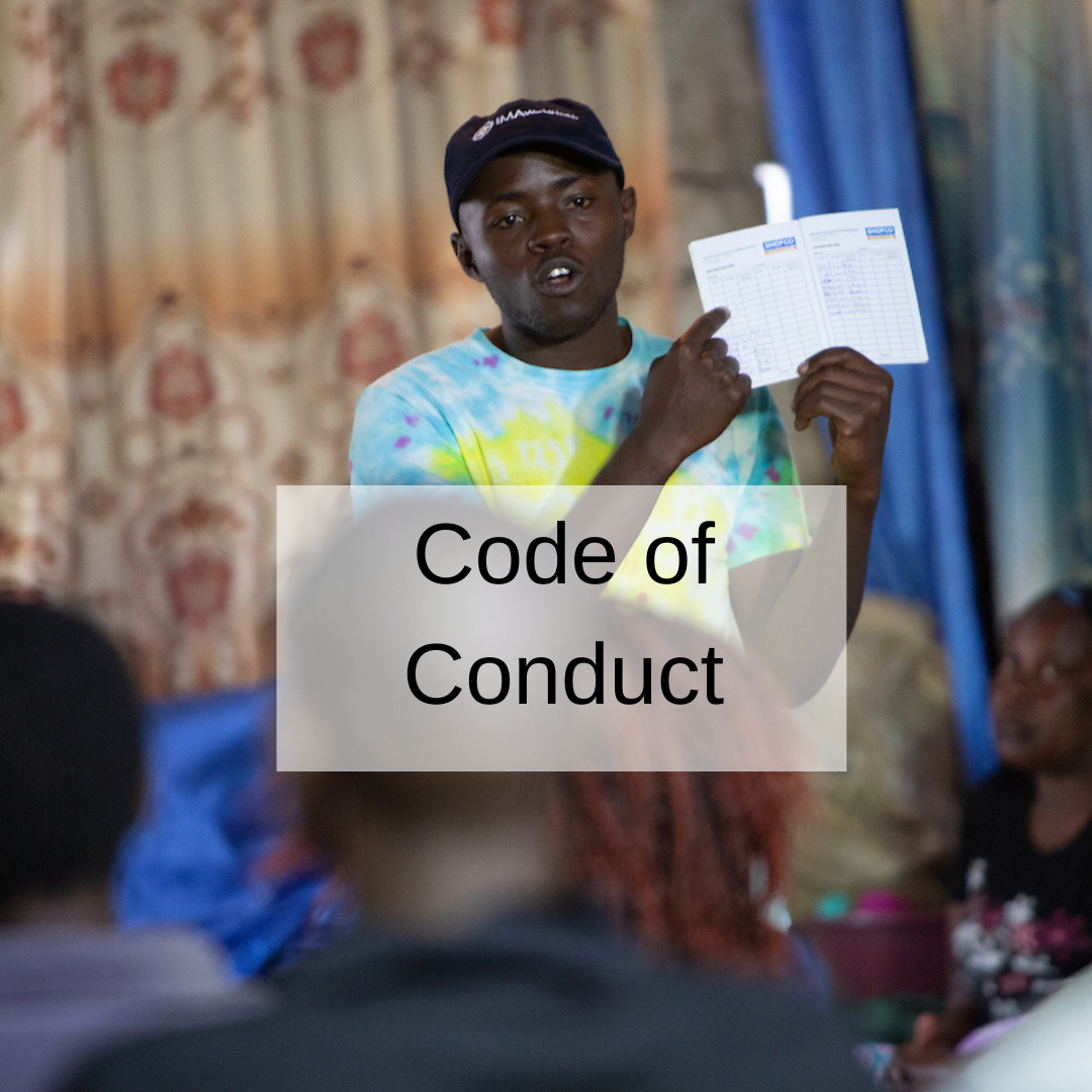 link to code of conduct training